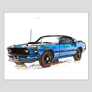 MUSTANG MACH 1 FASTBACK 1969 Posters