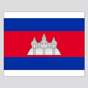 Flag of Cambodia Small Poster