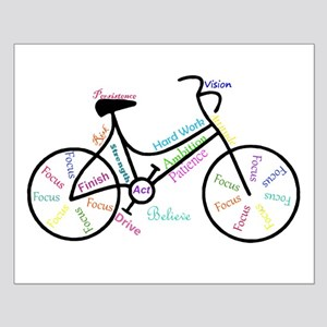 Motivational Words Bike Hobby or Sport Small Poste