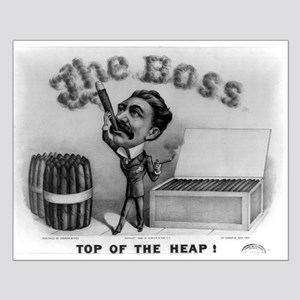Top of the heap - 1880 Small Poster