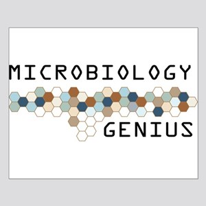 Microbiology Genius Small Poster