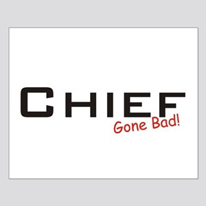 Bad Chief Small Poster