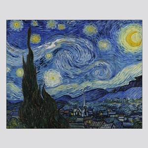 starry trek night Small Poster