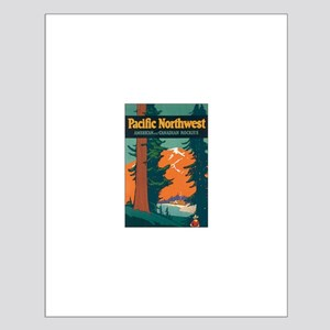 Pacific Northwest Small Poster