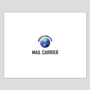 World's Greatest MAIL CARRIER Small Poster