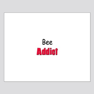 Bee Addict Small Poster