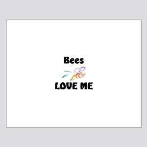 Bees Love Me Small Poster