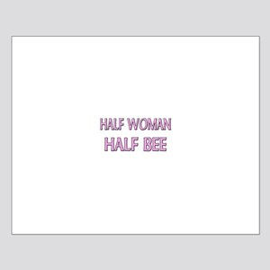 Half Woman Half Bee Small Poster