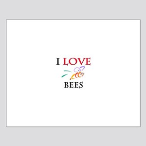 I Love Bees Small Poster