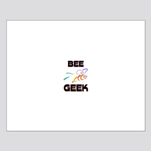 Bee Geek Small Poster