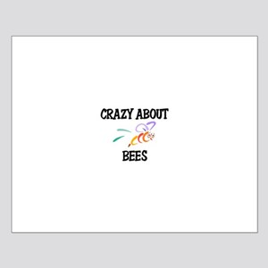Crazy About Bees Small Poster