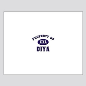 Property of diya Small Poster