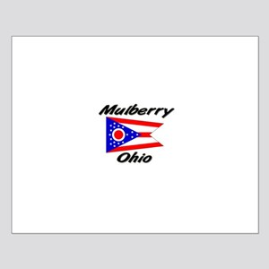 Mulberry Ohio Small Poster