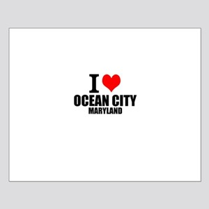 I Love Ocean City, Maryland Posters
