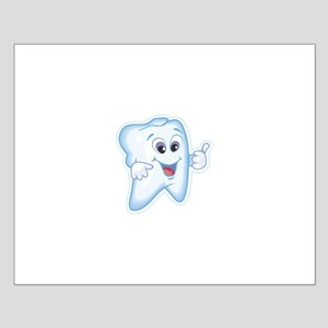 Friendly Tooth Dental Small Poster