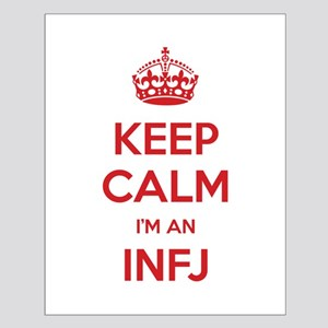 Keep Calm I'm An INFJ Small Poster