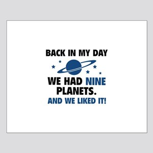 We Had Nine Planets Small Poster