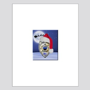 Law Enforcement Support Christmas Posters
