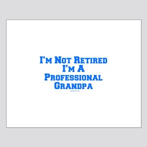 Professional Grandpa Small Poster