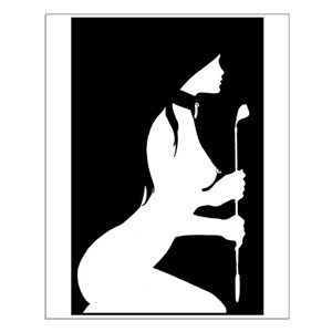 baa744dd5 Sexy Silhouette Posters - CafePress