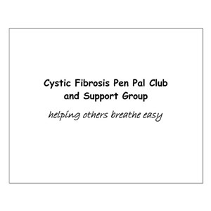 CF Pen Pal Club and Support G Small Poster