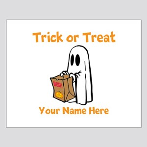 Ghost trick or treat Posters