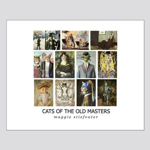 Cats of the Old Masters Small Poster
