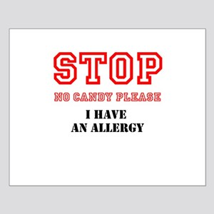 Allergy Warning Posters