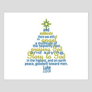Christmas Posters.Christian Christmas Posters Cafepress