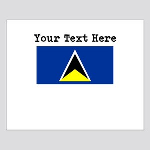 Custom St Lucia Flag Posters