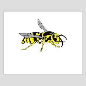 Cartoon Wasp Asp Bee Hornet Yellow Jacket B Wall Art Cafepress