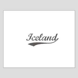 Iceland flanger Small Poster