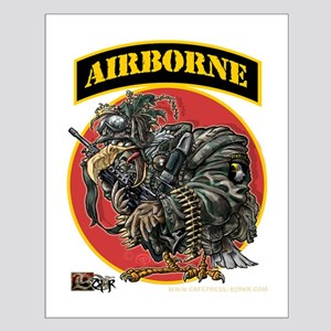 101 Airborne Eagle Small Poster