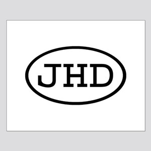 JHD Oval Small Poster