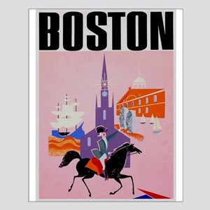 Vintage Boston MA Travel Posters