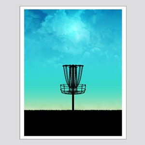 Disc Golf Basket Posters