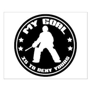 Hockey Goalie Posters Cafepress
