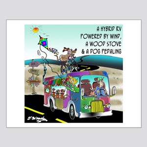 RV Cartoon 8250 Small Poster