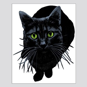 Black Cat Small Poster