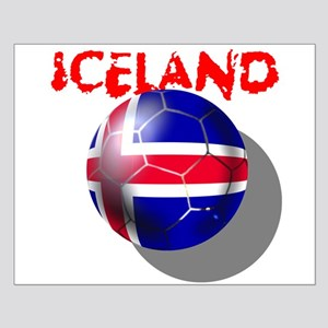 Icelandic Soccer Small Poster