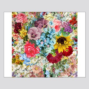 Colorful Flower pattern Poster Design