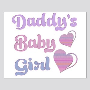 Daddy Dom Little Girl Posters - CafePress