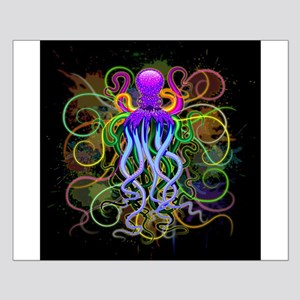 Octopus Psychedelic Luminescence Posters