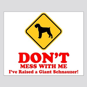 Giant Schnauzer Small Poster
