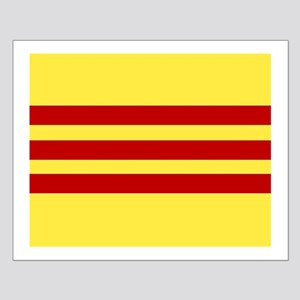 Flag of Vietnam Small Poster