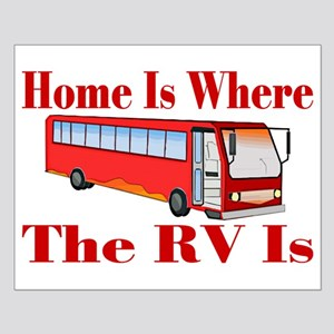 RV Home Small Poster