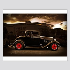 1932 black ford 5 window Posters