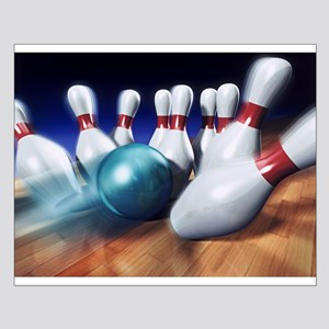 Bowling Small Poster
