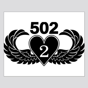 2-502 Black Heart Small Poster