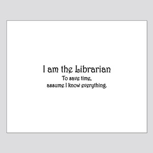 I am the Librarian Small Poster